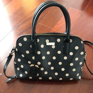 KATE SPADE small rachelle polka dot purse